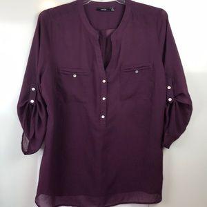 EUC Apt. 9 Light weight tunic style blouse